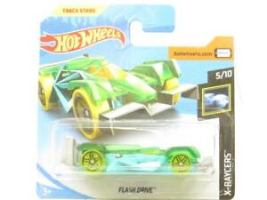 Hotwheels Flash Lecteur X-Raycers 35/250 Vert Court Carte 1 64 Scale Scellé New