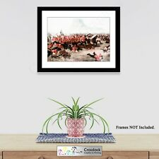 zulu war prints Battle of Isandlwana Photo Poster Picture Print ONLY Size A4 A3