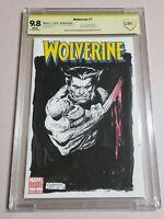 Wolverine Original Sketch By Joe Rubenstein!  CBCS 9.8. Not CGC