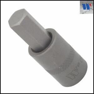 """Werkzeug - 12 mm Allen Key, Internal Hex Socket S2 Steel - 1/2"""" Drive - 7073-H12"""