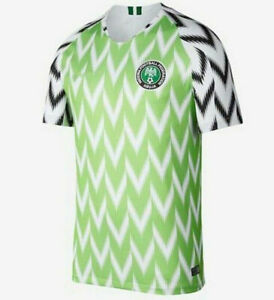 Nigeria NAIJA FED Abuja Football World Cup Football Shirt Home Jersey 2018/19