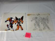 TRANSFORMERS JAPANESE BEAST WARS 2 II LIO CONVOY JR ANIMATION ART CELL LOT 241