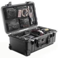 Peli CASE 1510 + Divider Set + Lid Organiseur/NOIR ou SABLE
