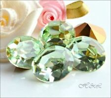 Any Purpose Green Oval Jewellery Making Beads
