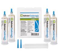 2020 FRESH Syngenta Advion Roach Killer/Cockroach Gel Bait 4 Tubes + Plunger&Tip