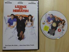 Lizenz zum Heiraten DVD 2007 - Williams / Moore / Krasinski - wie neu !!