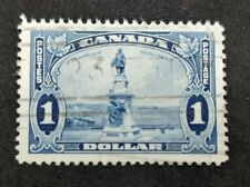 #227 1935 Champlain Monument used VF