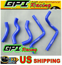 GPI Honda CR125 CR125R CR 125 CR125R 01 02 2001 2002 silicone radiator hose BLUE