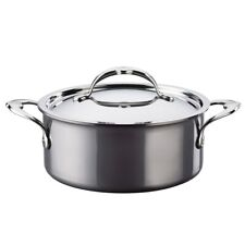 *NEW Hestan Nanobond Titanium 3 Qt Soup Pot with Lid MADE IN ITALY