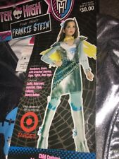 GIRLS POWER GHOULS STEIN OFFICIAL MONSTER HIGH HALLOWEEN COSTUME (LARGE)