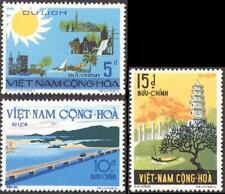 South Vietnam July 12, 1974, Tourist Publicity 487-489 Phát Triển Du Lịch MNH