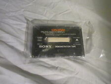 Vintage Sony Walkman Demonstration Cassette Tape - Piano Concerto / Jungle Strut
