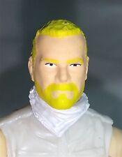 """Marauders Task Force 3.75"""" Male Head Sculpt - Trooper Light Skin Blonde Beard"""