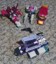 Transformers Original W/Rub Lot as Shown Very Nice Lot All Look Good All Vintage