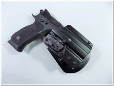 Professional Duty CZ 75 SP-01 Shadow Paddle Holster w/ Automatic Safety Lock