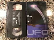 UFO Diaries Vhs! 1995 TV Series! Dr Who Space :1999 Space Precinct Stingray