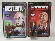 2017 EXCLUSIVE SUPER 7 HALLOWEEN SERIES ALFRED HITCHCOCK NOSFERATU MOC LOT 3.75""
