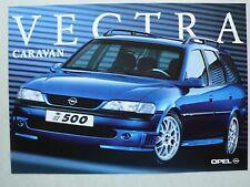 Prospekt Opel Vectra B Caravan i500, 1.1998, 2 Seiten