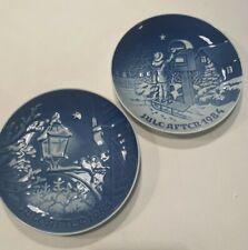 Bing And Grondahl Christmas Plates 1983, 1984