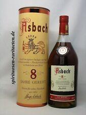 Asbach Uralt 8 Jahre Gereift Weinbrand Privatbrand 40%