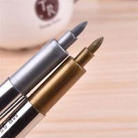 Metallic Color Sheen Paint Marker Pen DIY Album Photo Scrapbook Decor Card