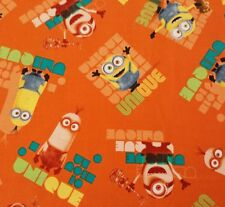 Le Buddies BTY Despicable Me Quilting Treasures Minions on Orange Minion Movie
