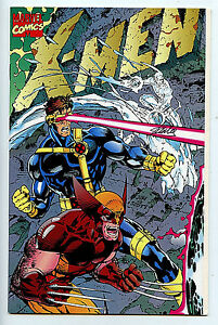X-Men #1 E Signed numbered Marvel Comics Signed by Stan Lee COA 1991 Amricons