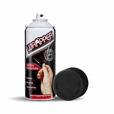 Wrapper Spray Vernice Removibile Nero Opaco Tinta RAL 9005