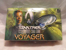 STAR TREK CCG VOYAGER COMPLETE SEALED BOX OF 30 PACKS