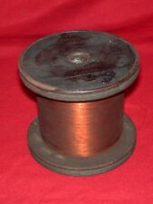 1930s GE Tube Preamp Amplifier Transformer Speaker X-Over Wire 4 lbs Wood Spool