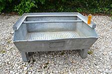 Caisse de rangement en métal galvanisé - Design Industriel (Boîte bac usine)