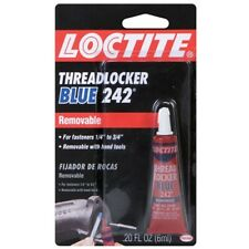 """Loctite 24200 Removable Blue Threadlocker 242 for Fasteners 1/4"""" - 3/4"""""""