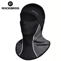 ROCKBROS Cycling Breathable Fleece Full Face Scarf with Multi-Style Filter Mask