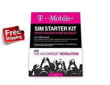 Prepaid Complete Sim Starter Ready To Use Nano Sim Card Micro Standard Adapters