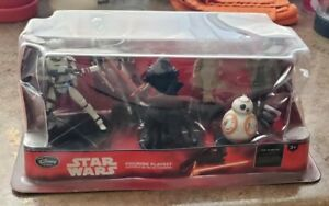 Disney Store Star Wars The Force Awakens Action Figure Playset Cake Toppers NIB