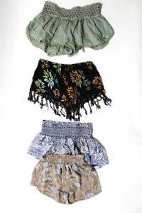 Eternal Sunshine Creations Mumu Womens Cotton Shorts Green Size S Lot 4