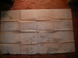 A & J Ingles plans of Ship No 1330P GA believed to be paddle steamer Waverley