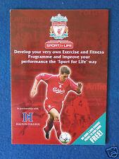 Football Ephemera - Liverpool FC & Halton College Leaflet - Late 1990's