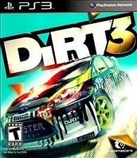 DiRT 3 (PlayStation 3) PS3 Disc Only in Generic Case - Works Great