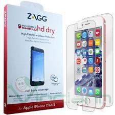 """Pellicola Full Body ZAGG HD Dry per Apple iPhone 7 6 6S 4.7"""" protezione totale"""