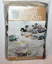 COOKIE DECORATING KIT includes CUTTERS; DECORATING TIPS; SPATULA; BAGS +  NEW