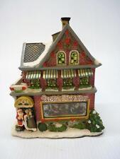 St. Nicholas Square, Santa's Toy Shop Lighted Building (h1631)