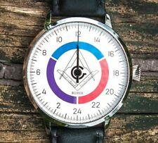 Romek 24 - the world's first 24-hour Masonic watch!!