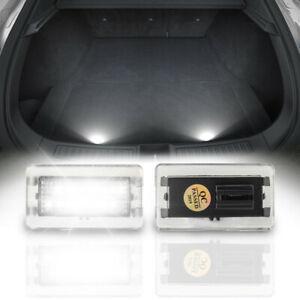 For 12-20 Tesla Model S 3 X White LED Luggage Compartment Trunk Cargo Light 2pcs