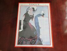 Vogue Summer Fashions Number June First 1921 Rare Large Framed Litho Print