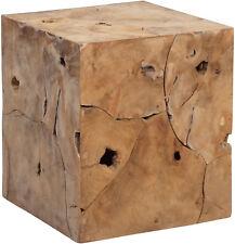 Unikat Massivholz Couchtisch Wohnzimmertisch Sofatisch Beistelltisch ARCO Teak