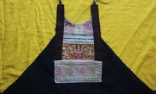 Vintage chinese minority people's old local cloth hand embroidery bellyband