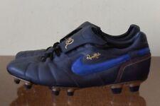 Nike Tiempo Ronaldinho 10R FG Leder Blau 315286-447 Gr 44
