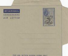 SIERRA LEONE:1961 6d Airmail Wrapper  H &G F7  unused
