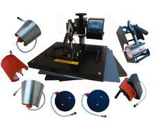8 In 1 Digital Heat Press Machine Transfer Sublimation For T-Shirt Mug Cup Hat